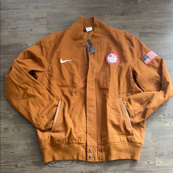 Nike Other - Men's Team USA Canvas Bomber Jacket